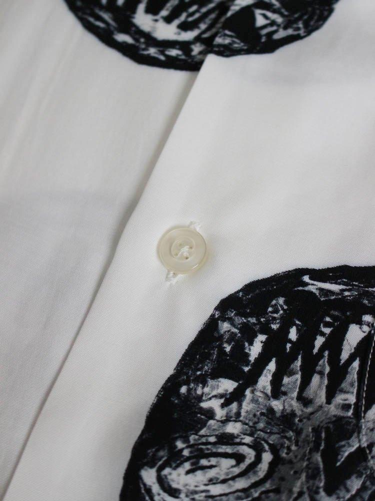 NECK FACE | S/S HAWAIIAN SHIRT (TYPE 1) #WHITE [NECKFACE-WM-HI07]