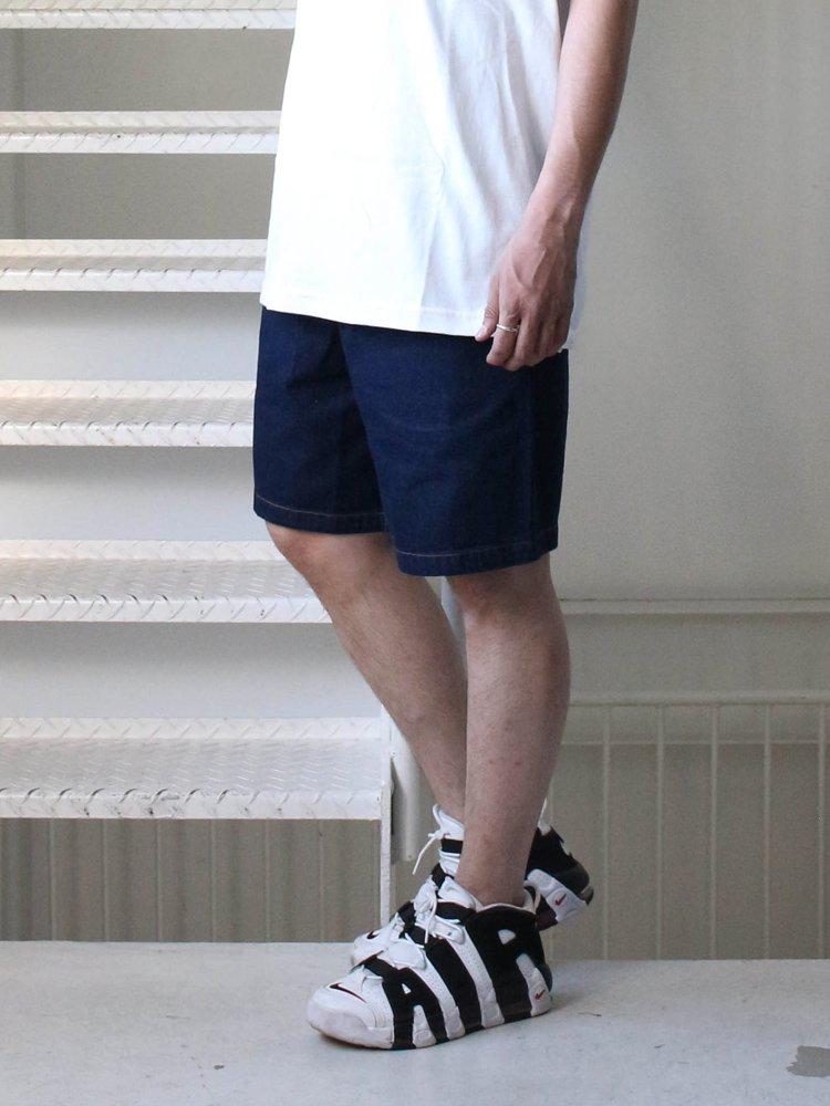 CHEF SHORT PANTS (DENIM) #NAVY [231-91990]