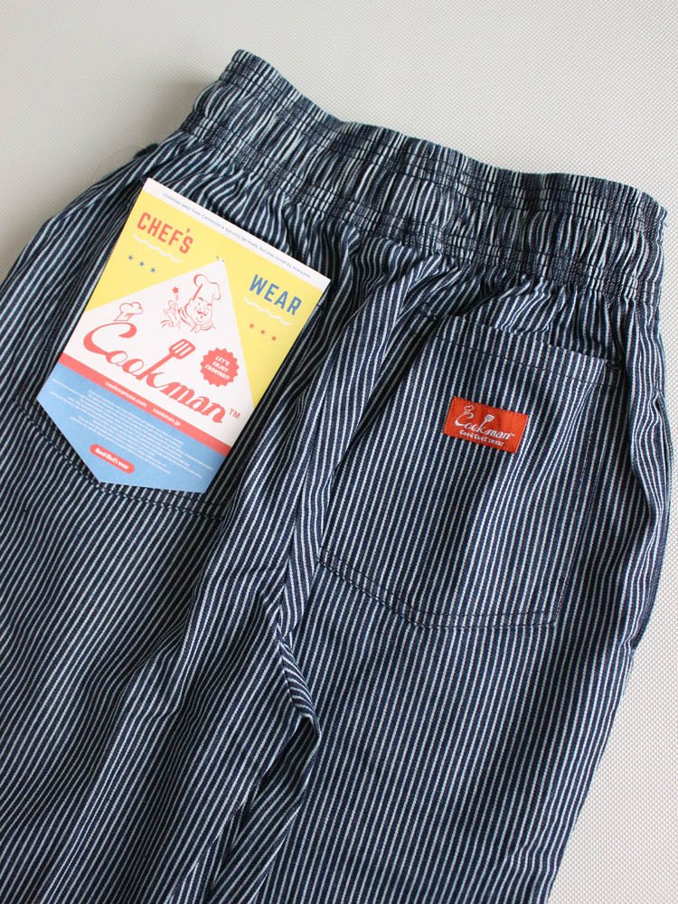 CHEF PANTS (HICKORY) #NAVY [231-83852]