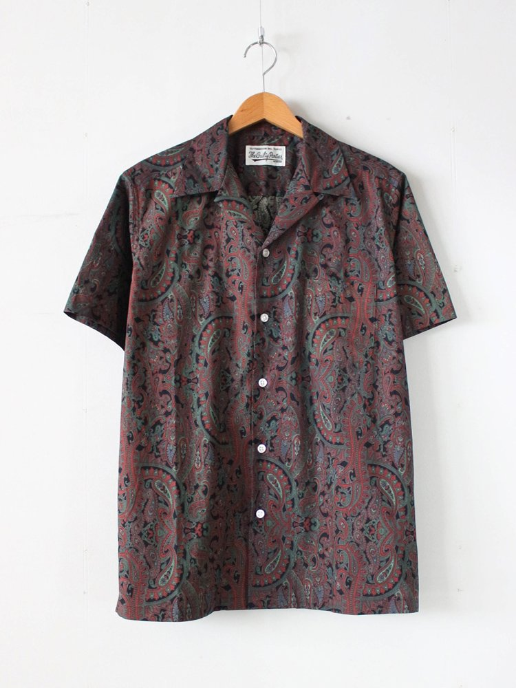 HAWAIIAN SHIRT S/S (TYPE 17) #GREEN [19SS-WMS-HI27]