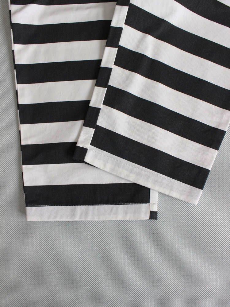 CHEF PANTS (BORDER) #BLACK [231-83838]