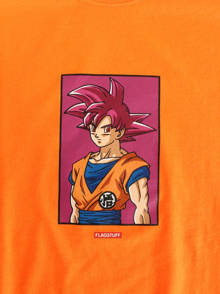 DRAGON BALL | GOKU TEE #ORANGE [19AW-FS-DB-06]