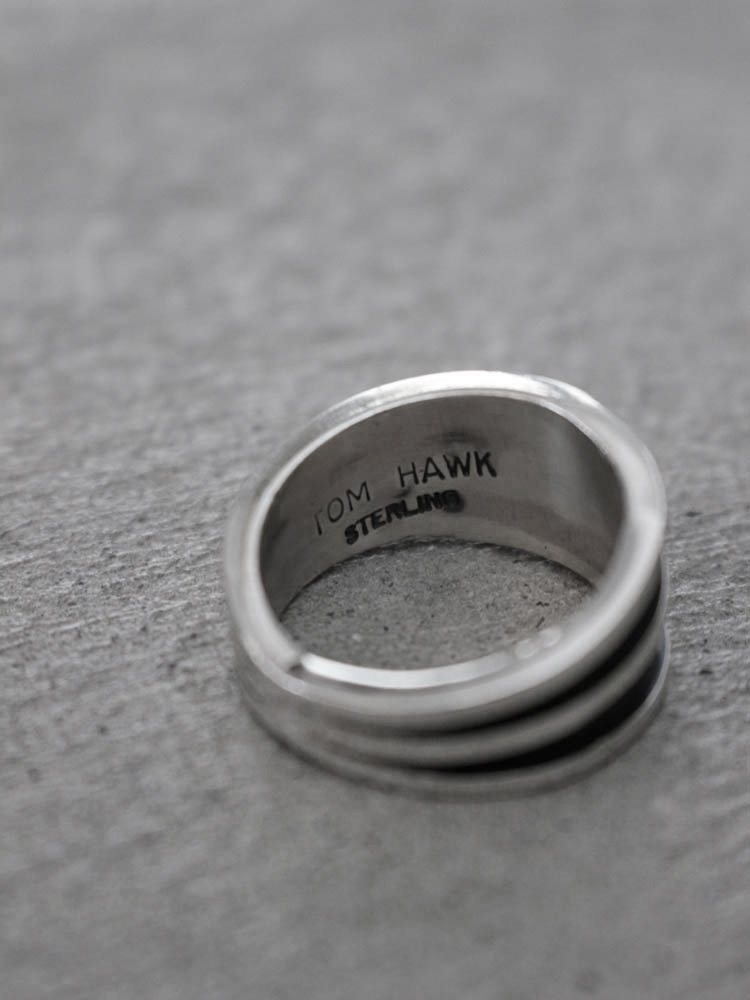 TOM HAWK | RING #SILVER
