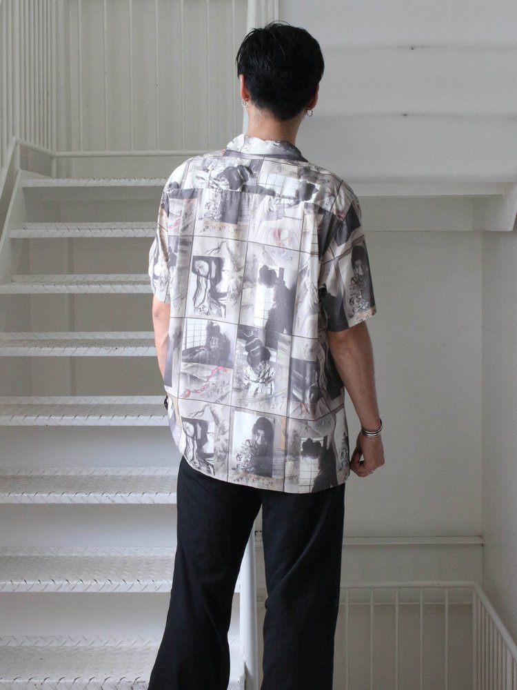 HAWAIIAN SHIRT S/S (TYPE 3) #ONE [19SS-WMS-HI06]