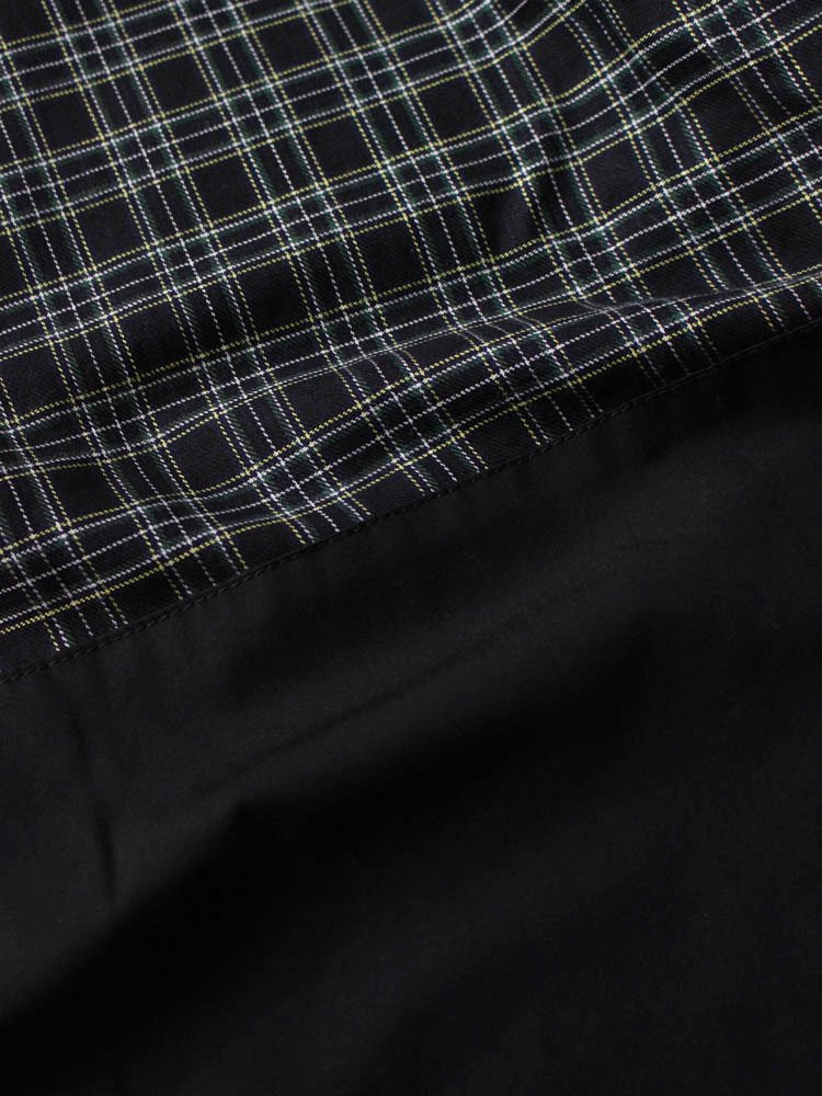 CHECK EASY PANTS #BLACK [19SS-FS-35]
