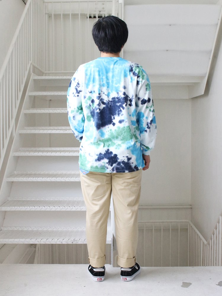 EARTH L/S TEE #DEEP SEA [C3127907]