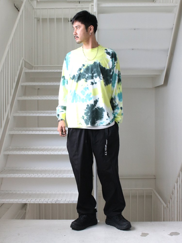 EARTH L/S TEE #MORNING FOREST [C3127907]