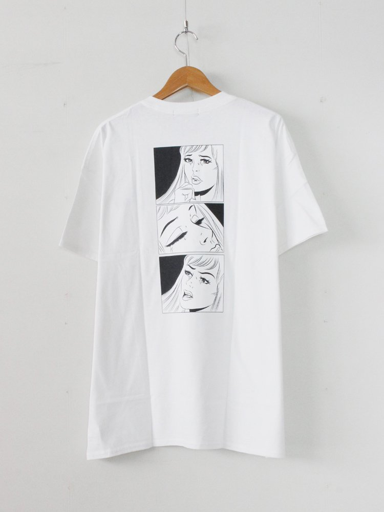 CRY TEE #WHITE [19AW-DH-24]