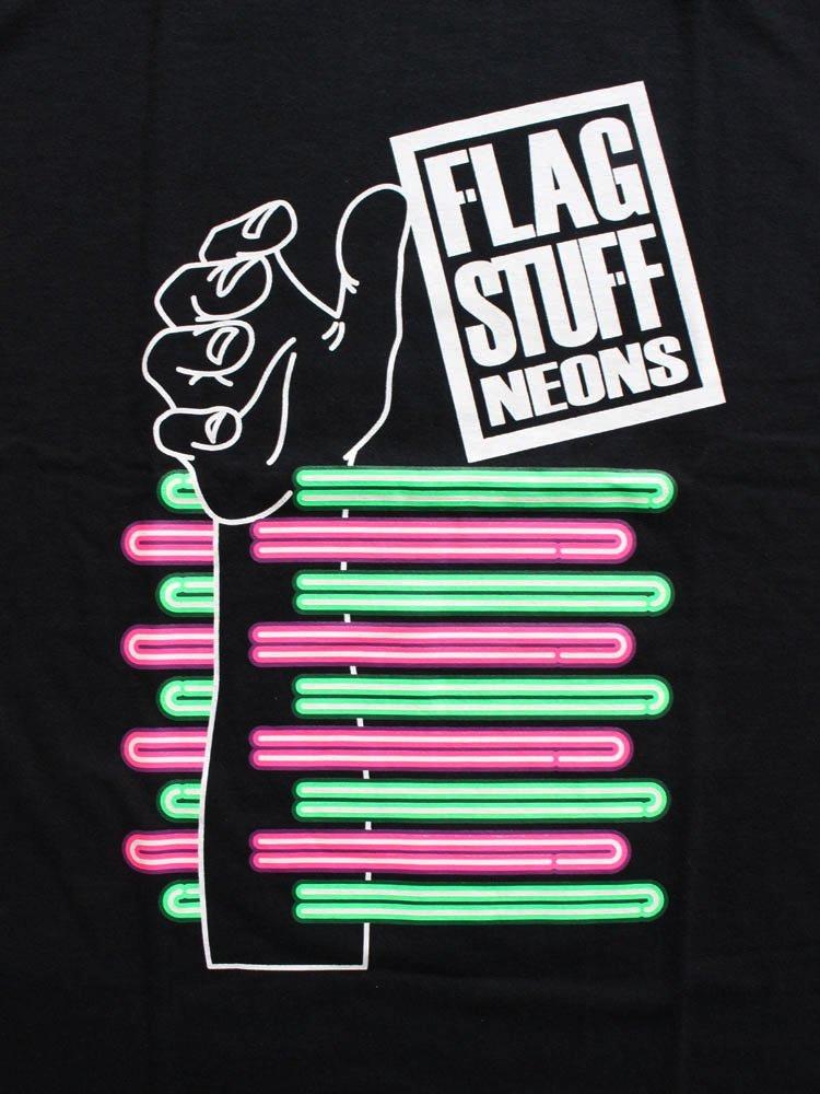 NEONS L/S TEE #BLACK [19AW-FS-46]