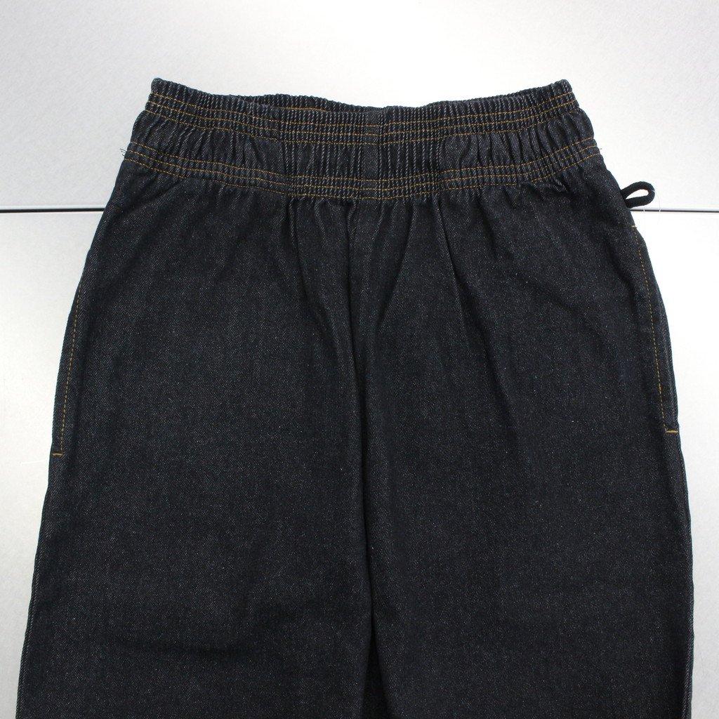 CHEF PANTS (DENIM) #BLACK [231-92870]