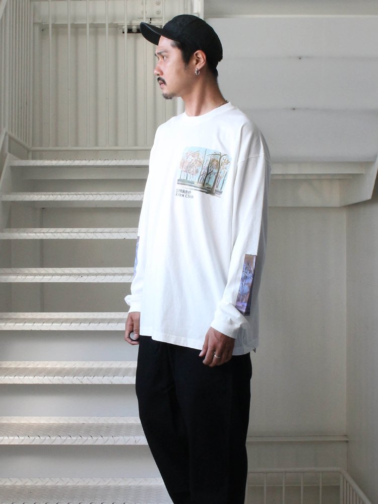 FOREST LS TEE #WHITE [DN0501403]