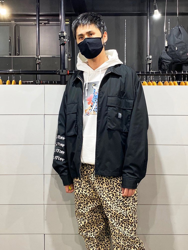 2TONE F/Z JKT #BLACK [19AW-FS-13]