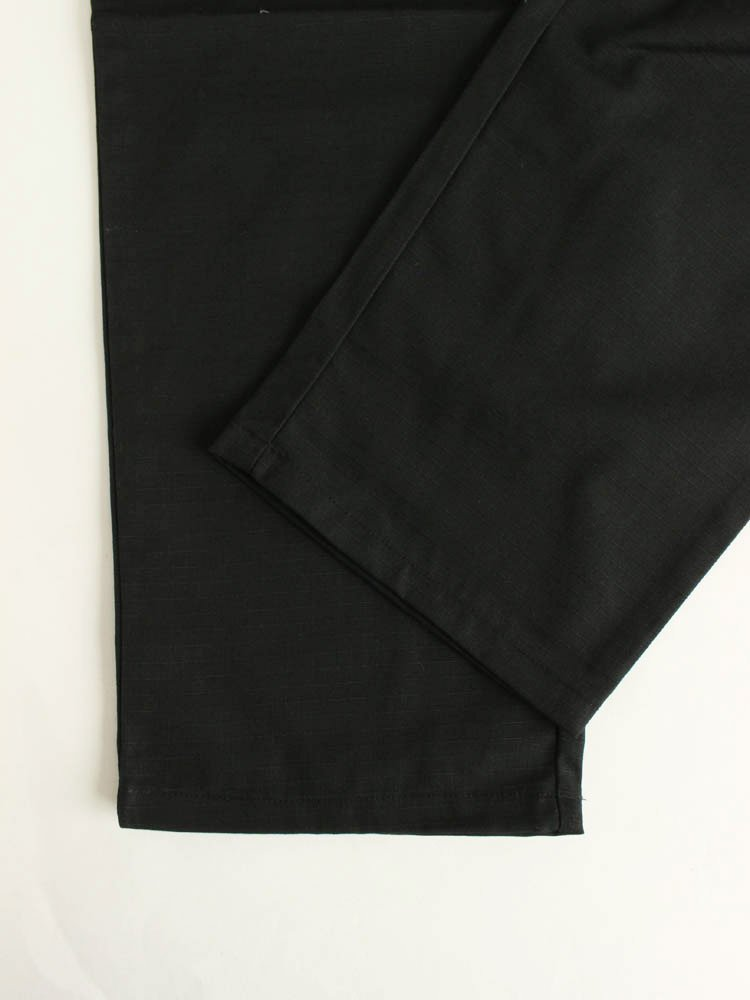 CHEF PANTS (RIPSTOP) #BLACK [231-93812]