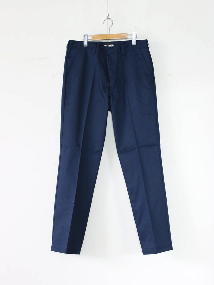 WACKO MARIA|TWILL SKATE PANTS (TYPE 1) #NAVY [GP-104-A-BLANKLINE-ZACK-01]