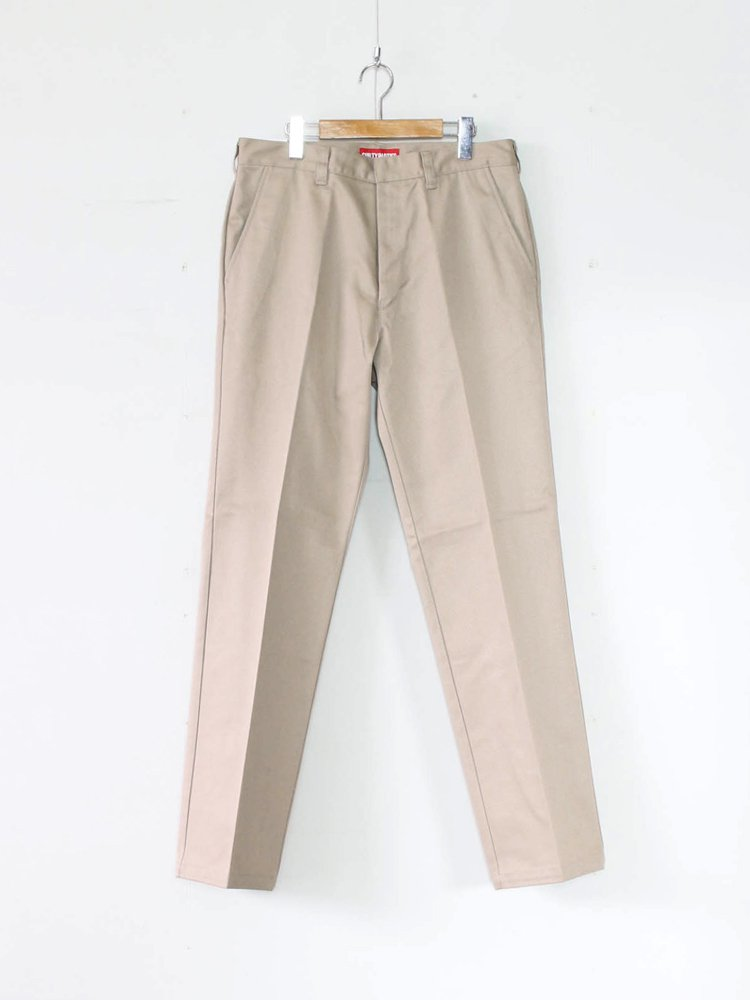 WACKO MARIA TWILL SKATE PANTS (TYPE 1) #BEIGE [GP-104-A-BLANKLINE-ZACK-01]