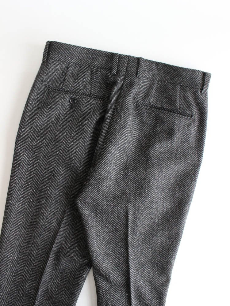 PLEATED TROUSERS (TYPE 2) #GRAY [19FW-WMP-TR15]