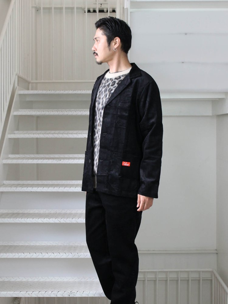 LAB. JACKET (CORDUROY) #BLACK [231-93416]