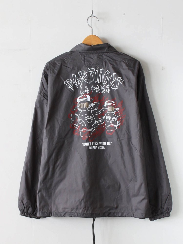 COACH JACKET 「PARTIMOS」 #GRAY [19AW-CJ-02]