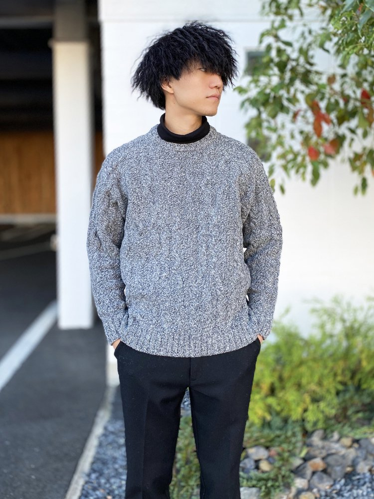 FISHER KNIT #GRAY [SC1920-KN01]