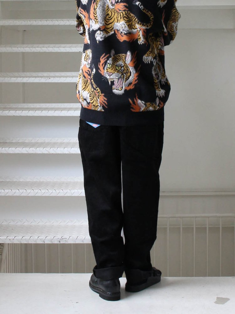 CHEF PANTS (CORDUROY) #BLACK [231-93806]