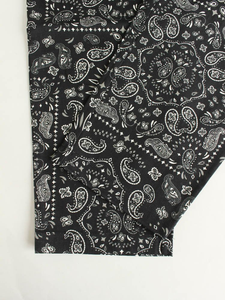 CHEF PANTS (PAISLEY) #BLACK [231-93810]