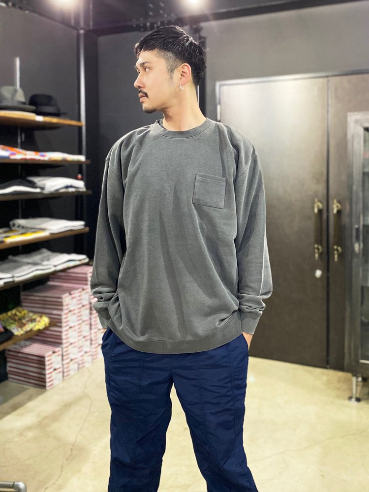 WILD SIDE CREW #PIGMENT BLACK [HH19F22]