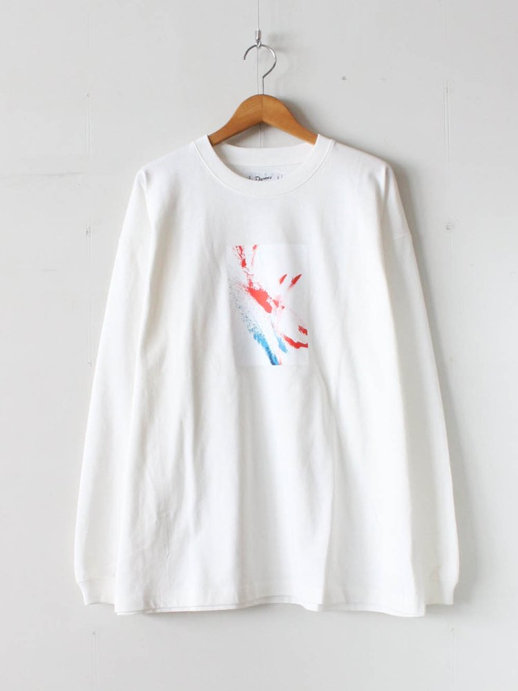 Dunno|ELECTRIC PAINT LS TEE #WHITE [DN0601405]