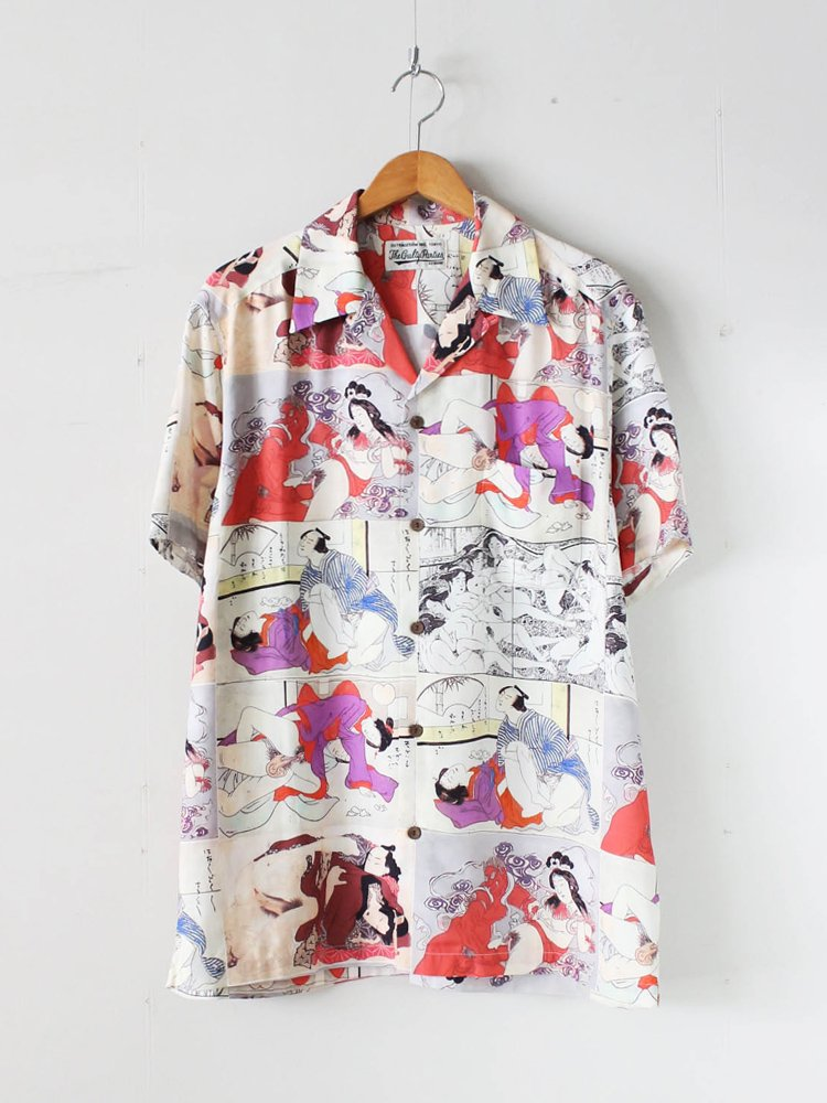HAWAIIAN SHIRT S/S (TYPE 1) #RED [20SS-WMS-HI01]