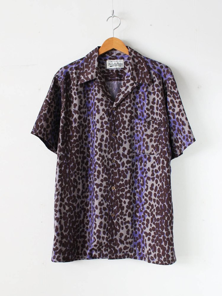 WACKO MARIA|HAWAIIAN SHIRT S/S (TYPE 7) #PURPLE [20SS-WMS-HI07]