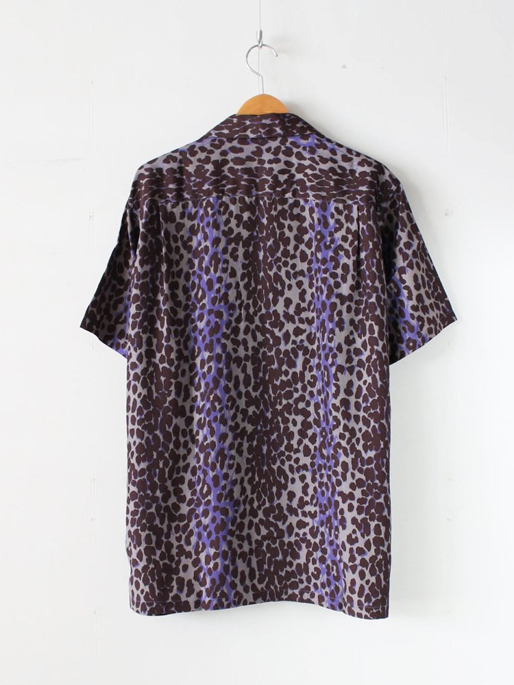 HAWAIIAN SHIRT S/S (TYPE 7) #PURPLE [20SS-WMS-HI07]