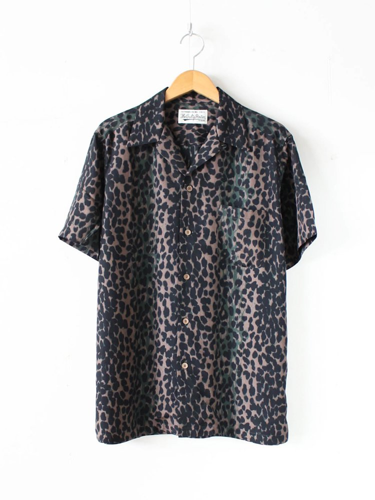 HAWAIIAN SHIRT S/S (TYPE 7) #GREEN [20SS-WMS-HI07]