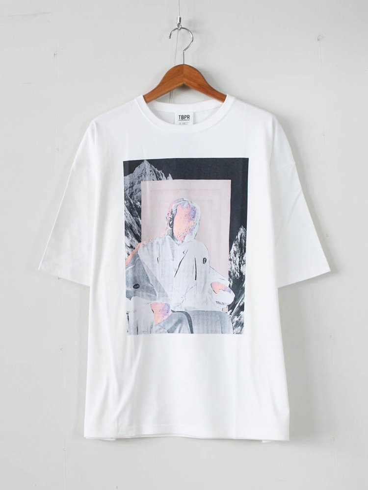 TIGHTBOOTH PRODUCTION|YUKICHI T-SHIRT #WHITE [SS20-T04]