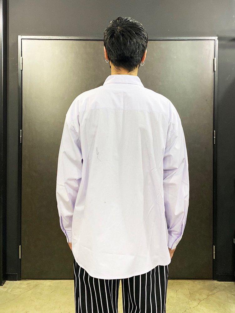 BIG L/S SHIRTS #PURPLE [20SS-FS-30]