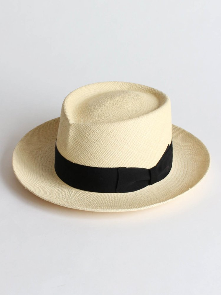 WACKO MARIA|HAT-03-MEXICO-NATURE-BRISA(G3) GROSGRAIN RIBBON #BLACK [HAT-03-MEXICO-NATURE]