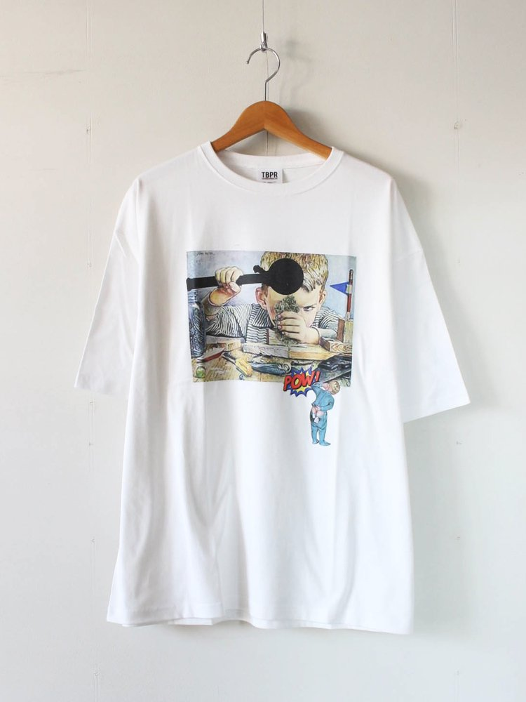 TIGHTBOOTH PRODUCTION|DR.X T-SHIRT #WHITE [SS20-T05]