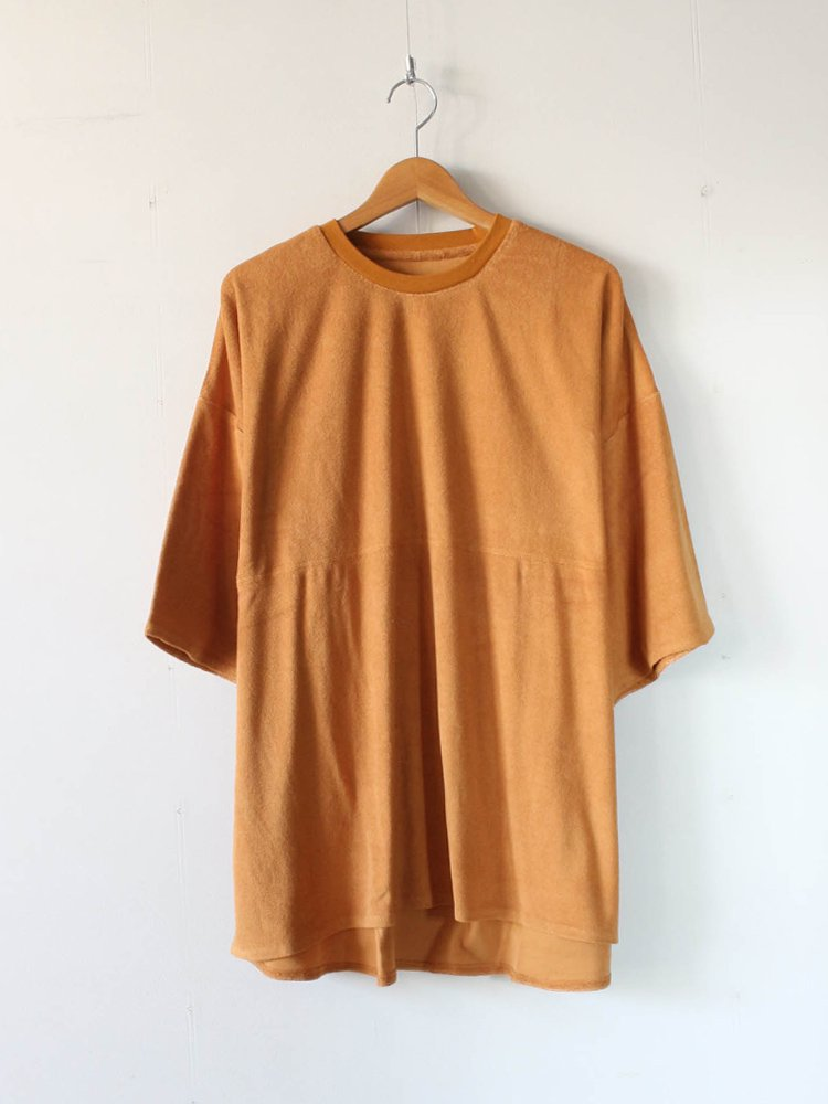 TIGHTBOOTH PRODUCTION|PILE T-SHIRT #CAMEL [SS20-T03]