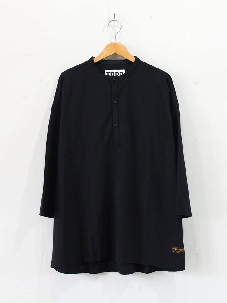 TIGHTBOOTH PRODUCTION|KANOKO BAND COLLAR T-SHIRT #BLACK [SS20-T06]