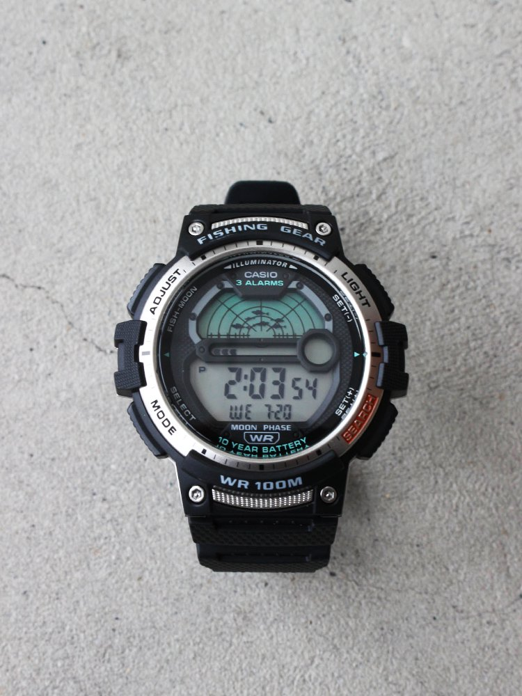 CASIO|FISHING GEAR DIGITAL #BLACK [WS-1200H-1AVDF]