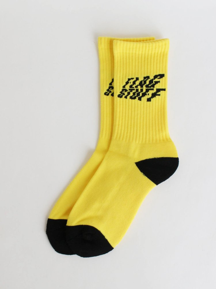 F-LAGSTUF-F|STAIR SOX #YELLOW [20AW-FS-103]