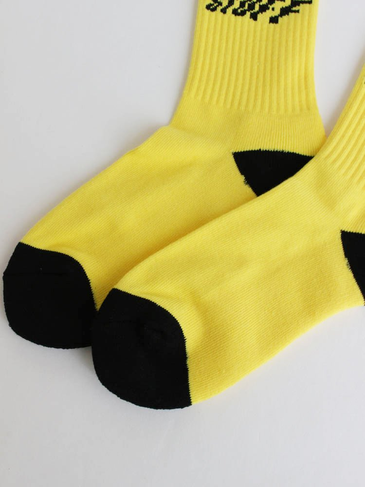 STAIR SOX #YELLOW [20AW-FS-103]