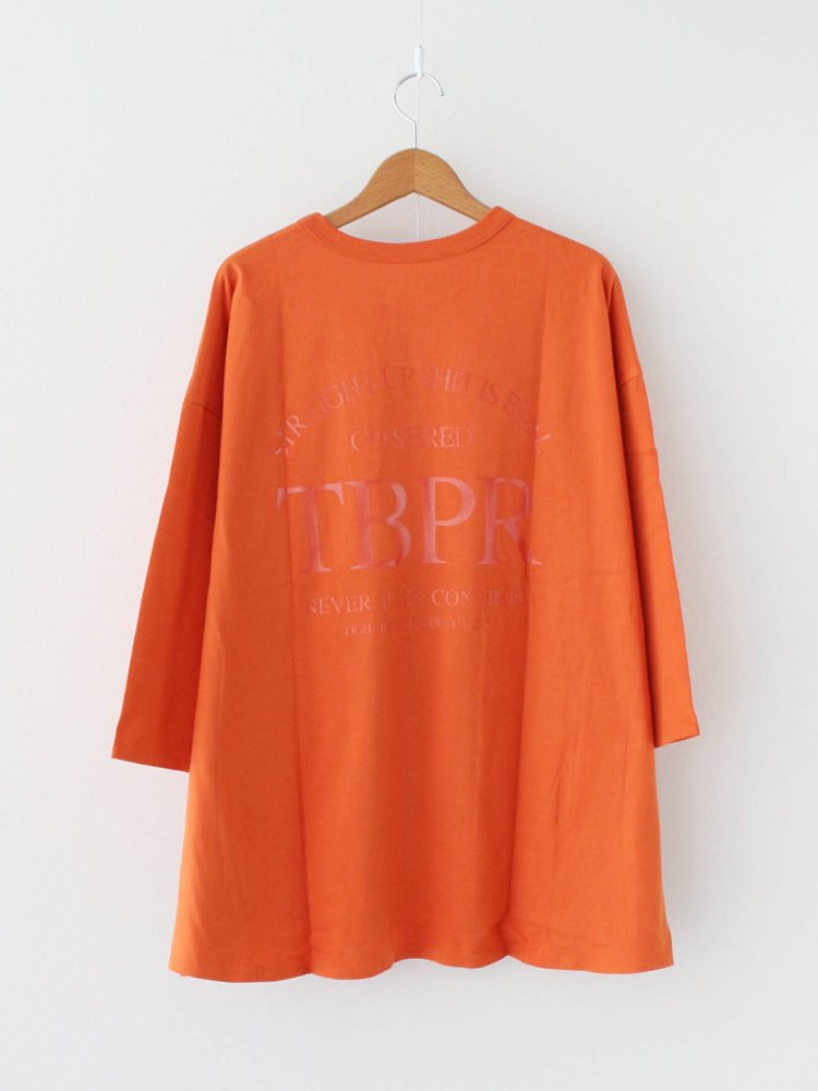 TIGHTBOOTH PRODUCTION|STRAIGHT UP 7 SLEEVE #ORANGE [SU20-T07]