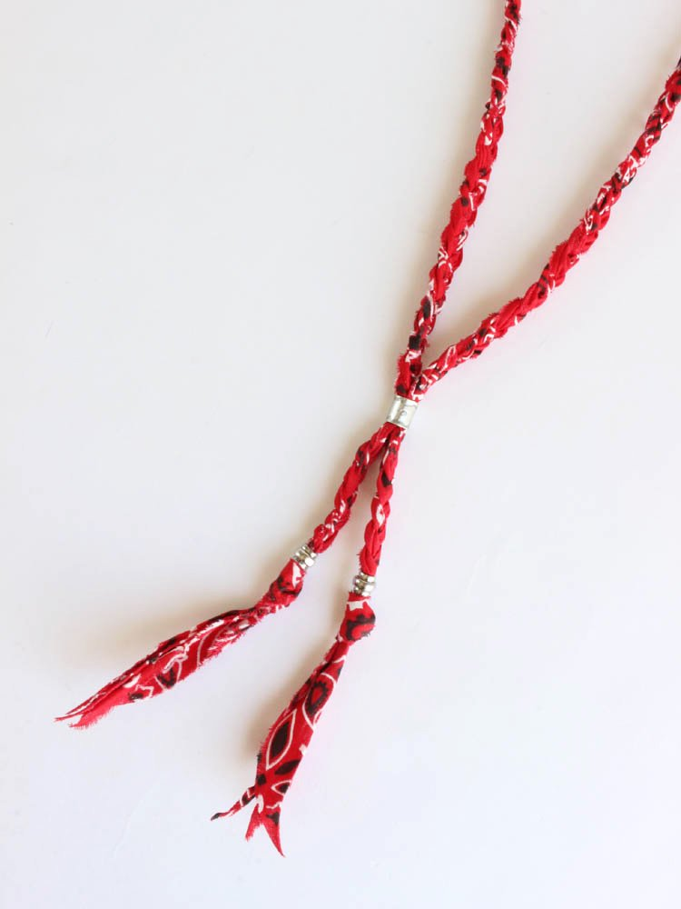 BANDANNA NECKLACE #RED [SK-290]