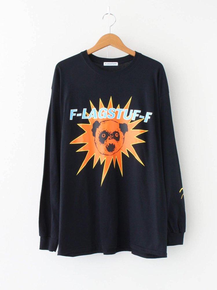 F-LAGSTUF-F|COSTUME L/S TEE #BLACK [20AW-FS-72]