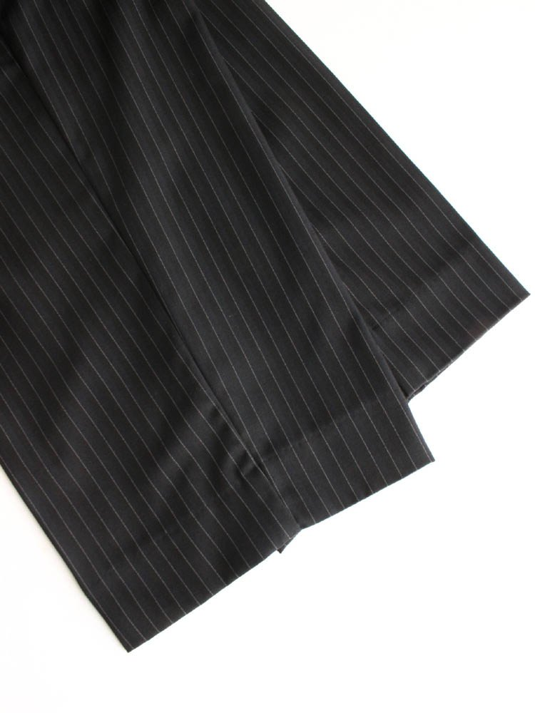 SINGLE BREASTED SUIT #BLACK STRIPE [20AW-FS-19/20]