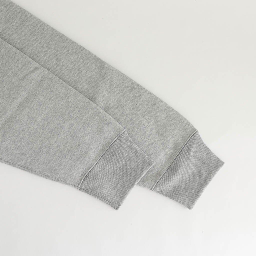 HEAVY WEIGHT PULLOVER HOODED SWEAT SHIRT (TYPE 1) #GRAY [20FWE-WMC-SS05]