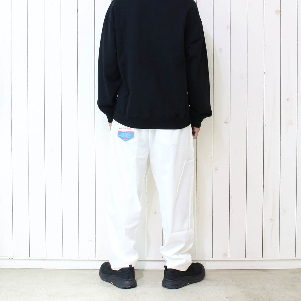 CHEFS FRYPANTS (TC WITH SPANDEX) #WHITE [231-01807]
