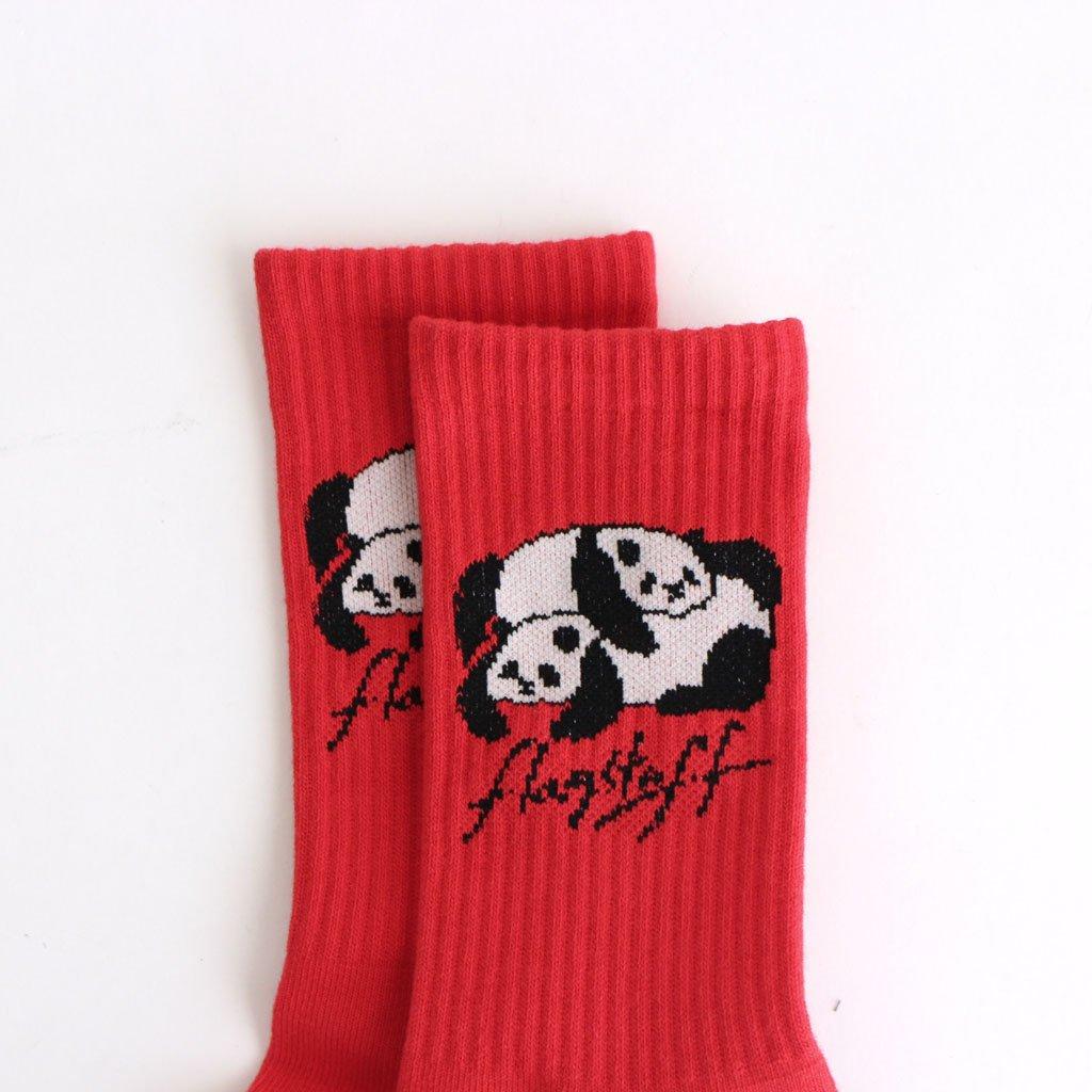 PANDA SOX #RED [20AW-FS-NOKO-05]