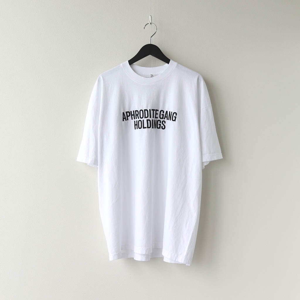 WACKO MARIA|舐達麻 | CREW NECK T-SHIRT #WHITE [NMD-WM-TEE01]