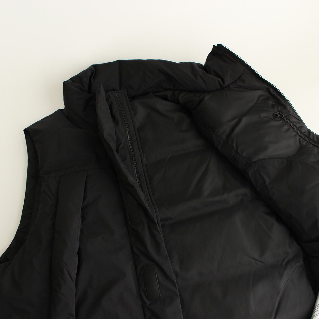 GORE-TEX INFINIUM FIELD DOWN VEST #BLACK [BJ-18020W]