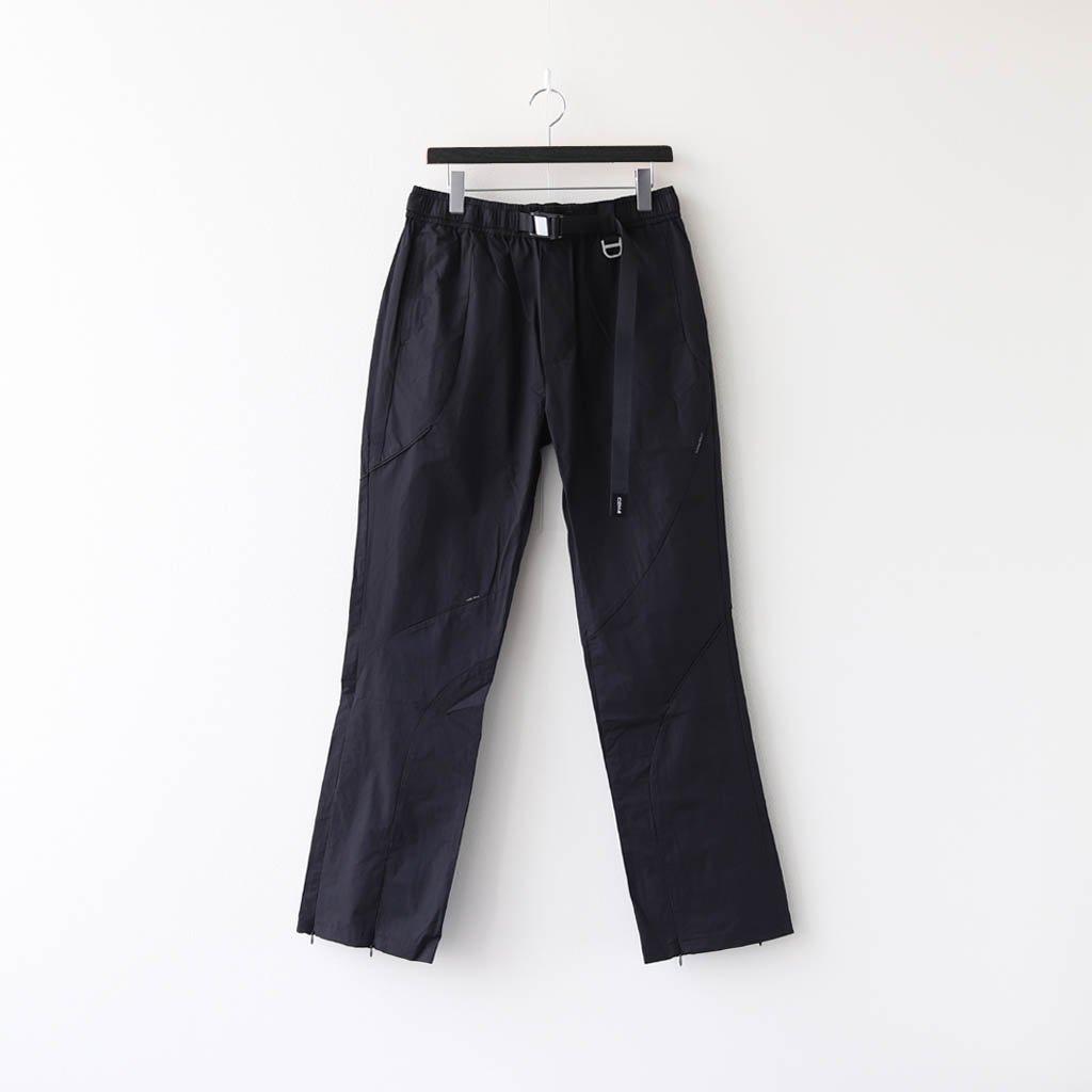 C2H4 INTERVEIN PANELLED TRACK PANTS #BLACK [R002-069]